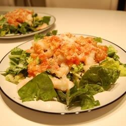 Herbal Shrimp Delight with Beer Sauce