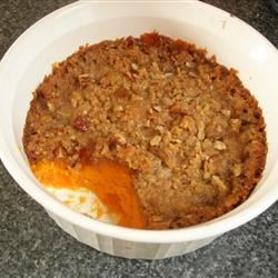 Sweet Potato Fluff Recipe - Very good as a side dish or as a dessert. Originally submitted to ThanksgivingRecipe.com.