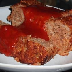 Sweet and Sour Meatloaf Recipe - Our family loves this meatloaf! It's covered with a tangy sweet and sour sauce made on the stove. It is very good!