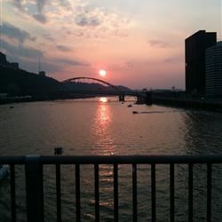 View of Pgh from the Smithfield Bridge