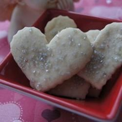 Tender Shortbread Recipe - This recipe makes great soft shortbread cookies for the holidays.