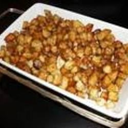 Diced Potatoes in Soy Sauce