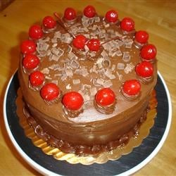 Chocolate Cherry Cake III