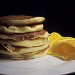 Buttermilk Pancakes I Recipe - Serve these simple but delicious pancakes with warm maple syrup or fresh fruit.