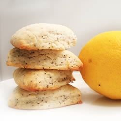 Vegan Lemon Poppy Scones Recipe - Delicious lemon poppy scones that happen to be vegan.  Note, this recipe can be changed up quite easily.  And the proportions are pretty forgiving, too.