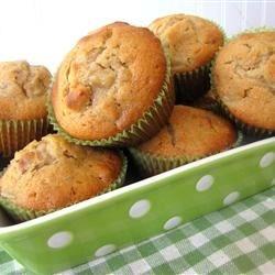 CC's Vanilla Pear Muffins