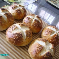 Soft Onion Sandwich Rolls