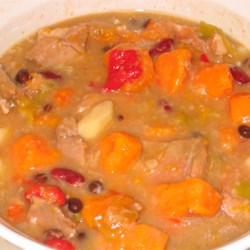 Southwestern Green Chile with Pork Stew