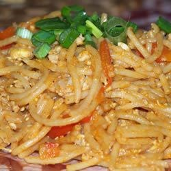 Malaysian Chinese Style Pasta Recipe - This recipe is an ideal way to stir-fry pasta in Malaysian Chinese style. A bit hot and spicy!