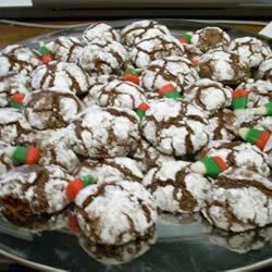 Chocolate Crinkles III--these are the best!!