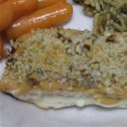 Alaska Salmon Bake with Pecan Crunch Coating Photos - Allrecipes.com