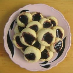 Jam Filled Butter Cookies