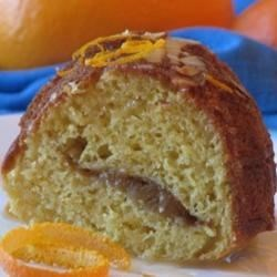 Almond Orange Streusel Coffee Cake