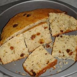Macomb's Irish Soda Bread Recipe - An Irish soda bread is enriched with sour cream for a tender, moist version. Cut into wedges and serve warm with butter.