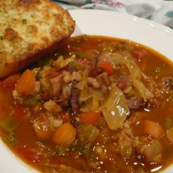 Vegetable Salsa Soup Recipe - A simple low-fat, low-calorie soup of chopped carrots, celery and mixed vegetables cooked in a mixture of chicken broth and salsa.