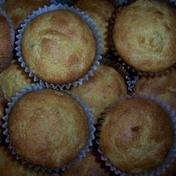 Easy, Speedy Corn Muffins Recipe - Making corn muffins won't get easier than this streamlined method using prepared muffin mix, canned cream-style corn, and a tad of brown sugar. Enjoy them warm or at room temperature.