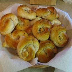 Herbed Biscuit Knots