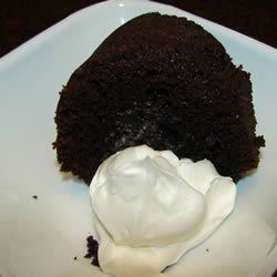 Devil's Food Cake II Recipe - A dark chocolate cake made with shortening and cake flour.