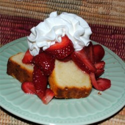 Lemon Pound Cake I Recipe - Very light pound cake.  Tastes just like Sara Lee's!