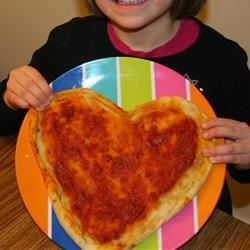 Valentine Pizza by Sweetie