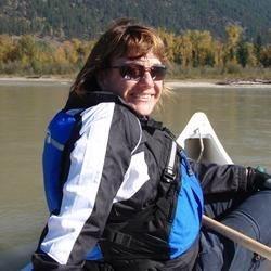 paddling down river
