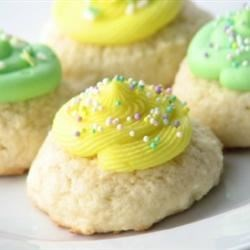 Old-Fashioned Soft Sugar Cookies Recipe - This is a drop cookie.  I have been making it for over 35 years.  It is the first cookie I ever made!!!