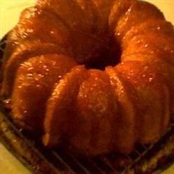 Apricot Brandy, Peach Schnapps Pound Cake