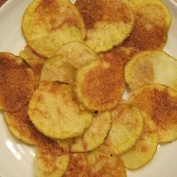 Microwave Potato Chips Recipe - Use the magic power of a microwave to make your own oil-free potato chips.