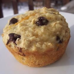 Tasty Orange-Oatmeal Muffins Recipe - These orange-flavored muffins are perfect for a light breakfast or snack.