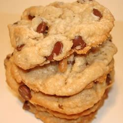 Buttermilk Chocolate Chip Cookies Recipe - Chocolate chip cookies made with buttermilk baking mix (Bisquick).