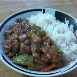 Chicken and Chinese Vegetable Stir-Fry Recipe - Chicken is flavored with oyster sauce in this Asian-inspired dish.