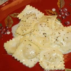 Easy Alfredo Sauce II Recipe - No cooking for this sauce, just toss with hot pasta.
