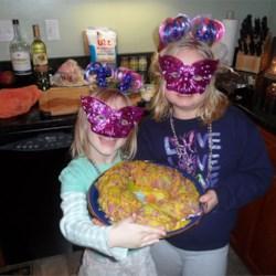 Super Easy Mardi Gras King Cake