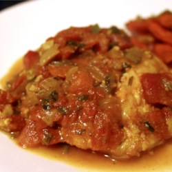Cod Curry Recipe - This tomato based curry may be modified for hotness depending on quantity of spices and number of jalapeno peppers used. It is a great favourite with my family - I make it about once a month.