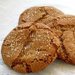 Molasses Sugar Cookies Recipe - These are a wonderful chewy spice cookie. They are drop cookies that keep very well. I make them at the beginning of the holiday season and they keep all the way to New Year's!