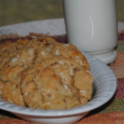 Dishpan Cookies I Recipe - A volunteer at a Red Cross Blood Drive gave my sister this recipe years ago.  This recipe will literally make a dishpan full of cookies.  You will probably want to halve this recipe.