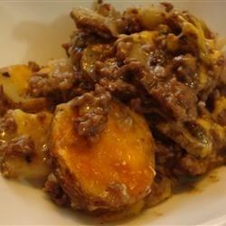 Scalloped Potatoes and Hamburger