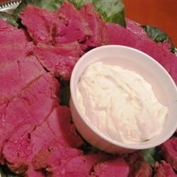 Corned Beef Roast Recipe - Instead of cooking your corned beef on the stovetop, try it in the oven! Plan on 1 hour of roasting time per pound of beef.