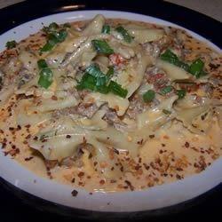 Richard and Suzanne's Louisiana Crawfish Pasta