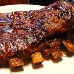 Tender Pork Spare Ribs