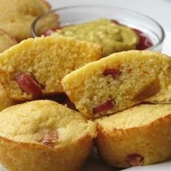 Corn Dog Muffins Recipe and Video - A quick, easy way to recreate a fun, family favorite from the state fair.