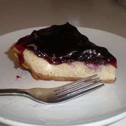 My Tofu Blueberry Cheesecake