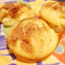 Apple Lemon with Cinnamon Muffins