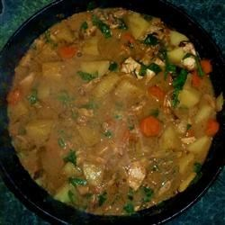 West African Chicken Stew Recipe - Warm-up the dinner table with this rib-sticking stew recipe.