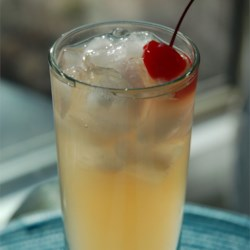 Shaggy's Hana Bay Frootie Joy Recipe - Rum and coconut-pineapple juice poured over ice, stirred to perfection and sipped blissfully.