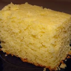 Maryanne's Cornbread Recipe - This sweet cornbread starts with baking mix, cornmeal and corn kernels are added to make a fluffy bread to serve with almost anything.