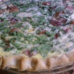 Kitty's Blue Ribbon Spinach Quiche