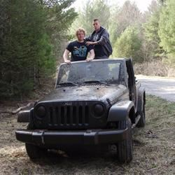 Offroading with roomate.
