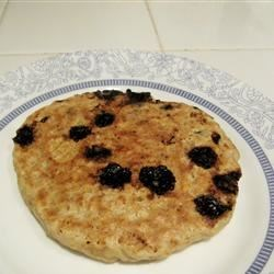 Oatmeal Chocolate Chip Pancakes Recipe - These simple pancakes contain neither eggs nor dairy, and taste great with your favorite syrup! Be sure to use vegan chocolate chips.