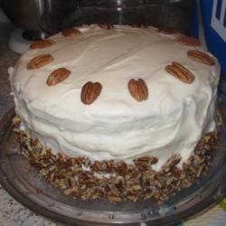 Carol's Butter Pecan Cake
